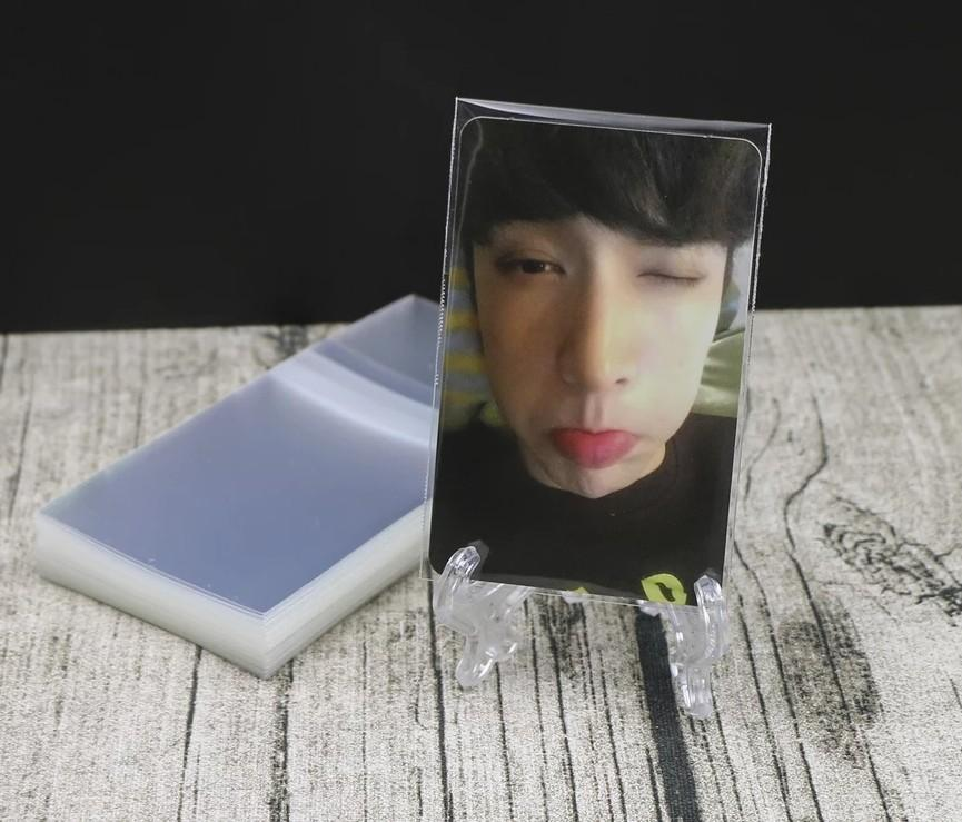 [READY STOCK] PHOTOCARD SLEEVE FOR POST OR TRADE (100pcs)