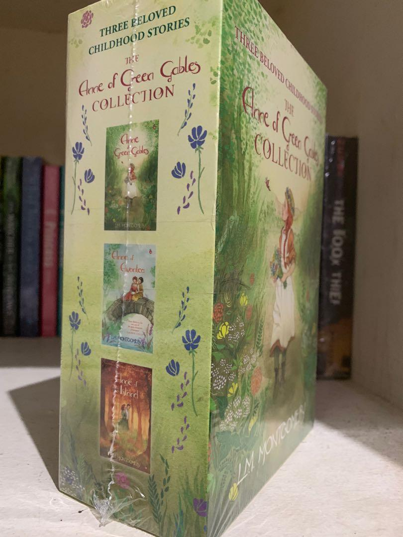 The Anne of Green Gables 1 COLLECTION book Series Anne of Avonlea 2 Anne of the Island 3 Book Books #1 #2 #3 Paperback by L. M. Montgomery