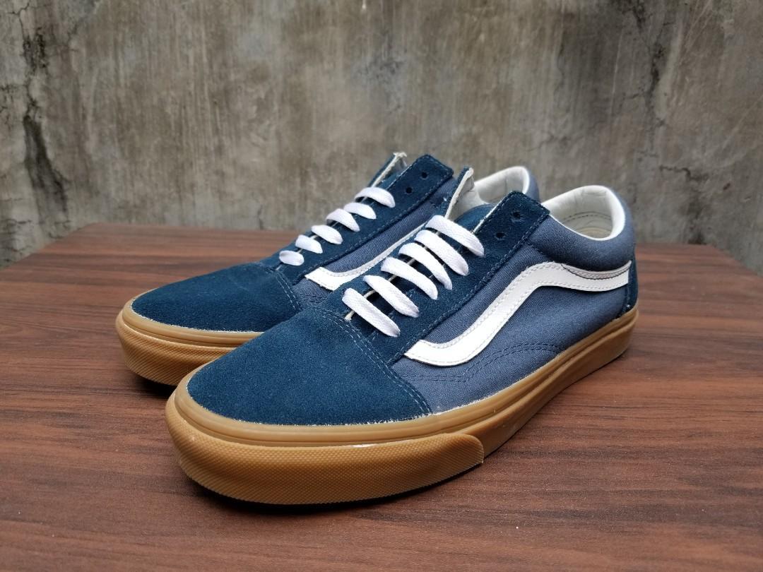 VANS Old Skool Navy Blue Gum, Men's