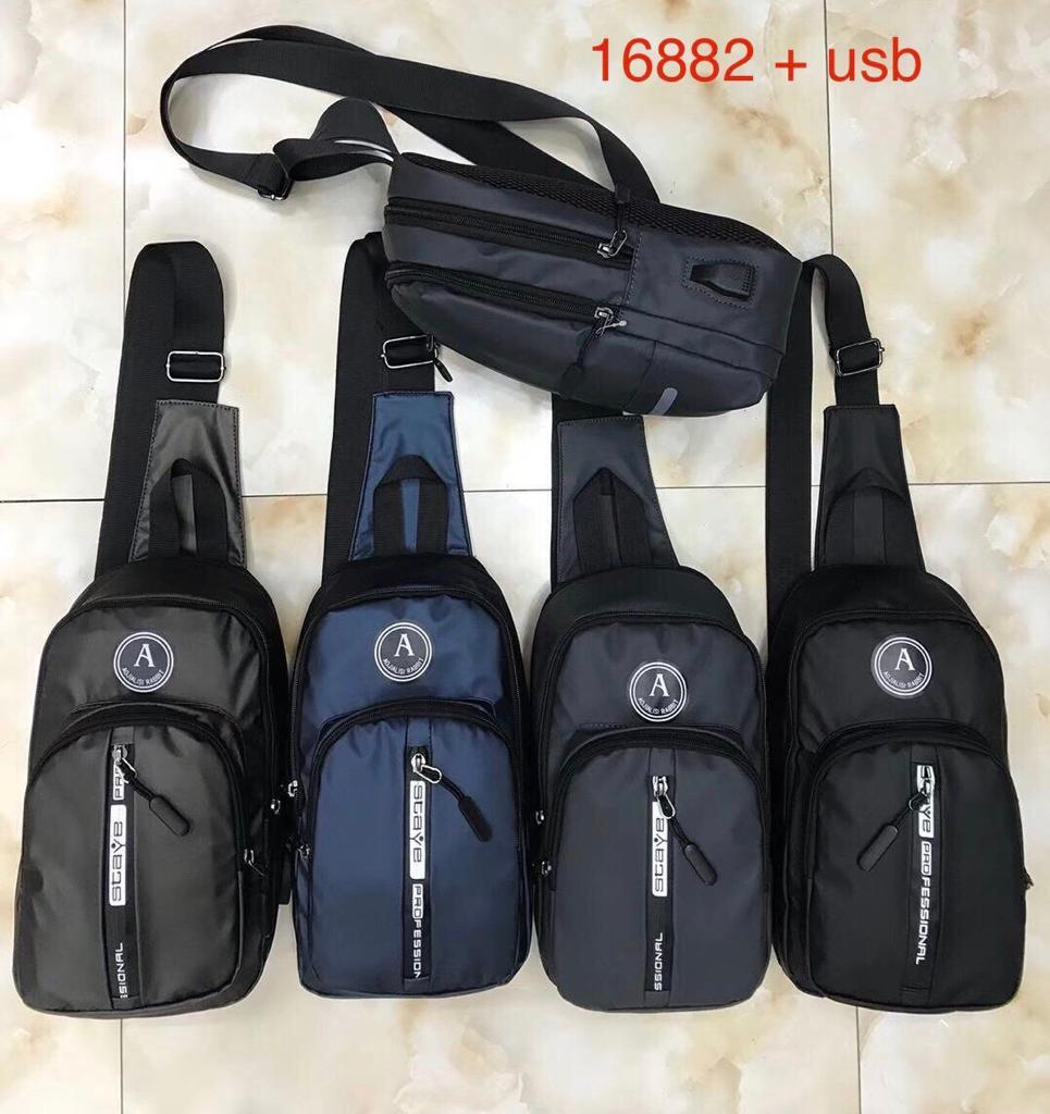 Waist bag murah tas cowok murah sling bag murah tas selempang slempang tas usb