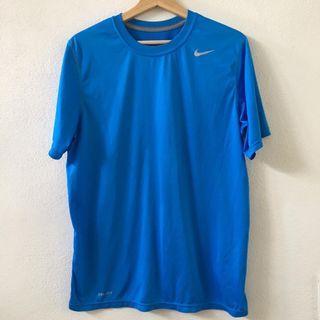 Nike Mens Blue Drifit Top