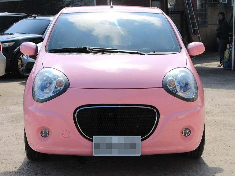 2011 Tobe M car 1.5 粉紅