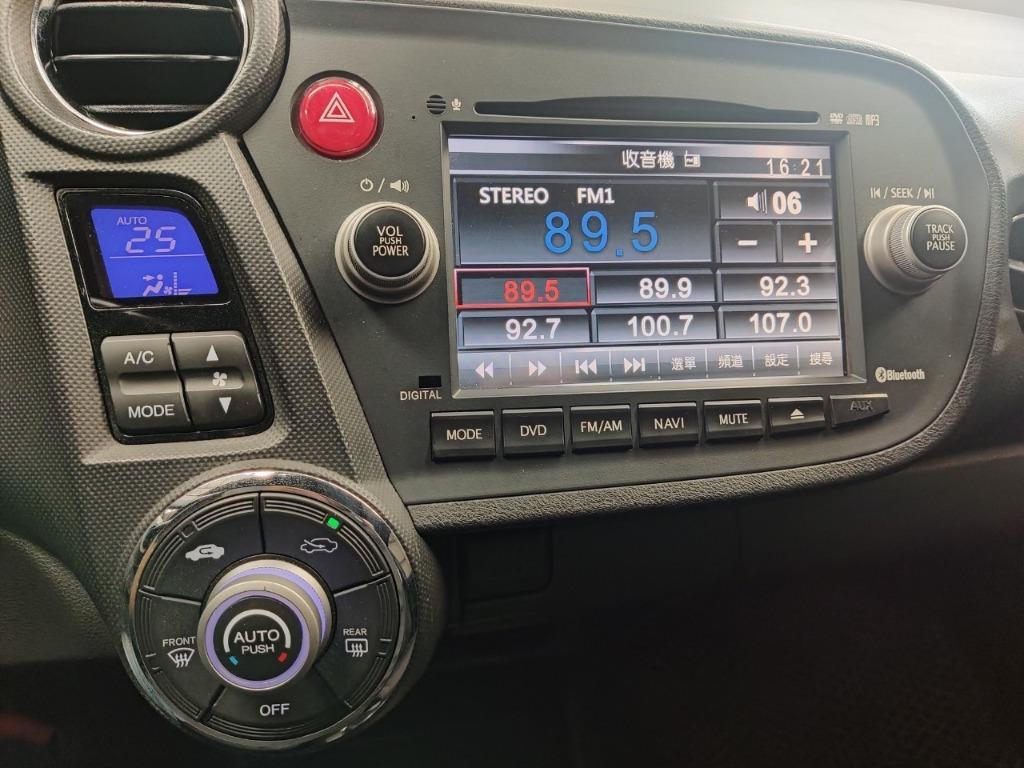 實車實價 進口2011年HONDA Insight 油電車 安全性佳 省油省稅 可全額貸 超額貸 強力過件 請洽0932171411