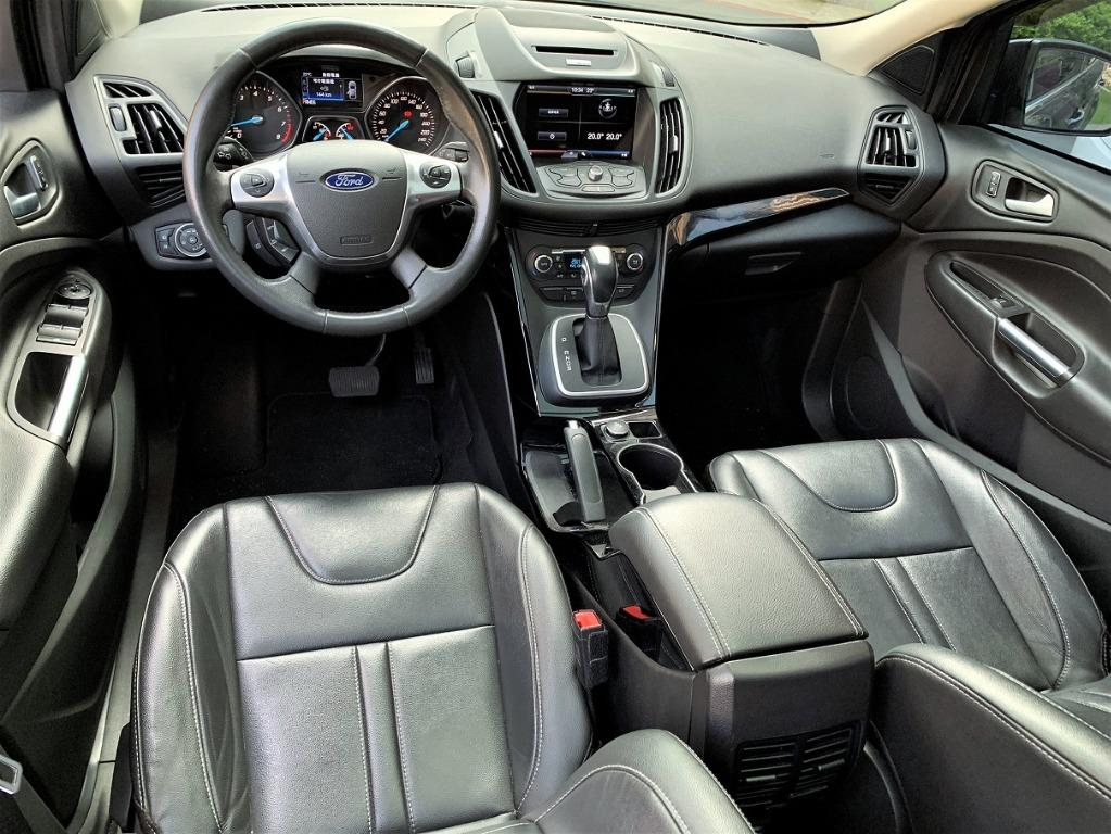 2015 KUGA頂規1.5T滿配 免頭款全額貸 FB搜尋:阿億嚴選 好車至上 非CRV、RAV4、CX5、HRV、U6