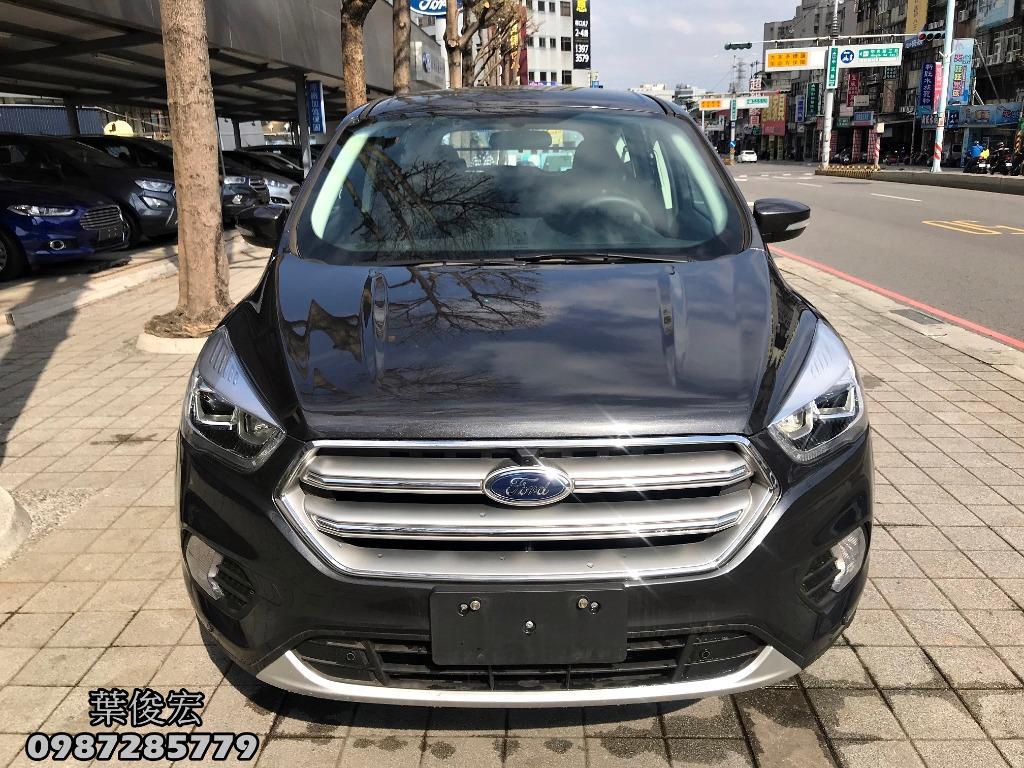 福特原廠認證中古車2019年Ford KUGA 1.5 影音升級 EcoBoost182 原廠認證保固