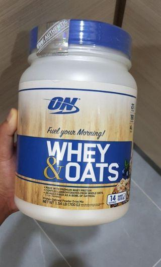 Optimum Nutrition Whey Protein Oats