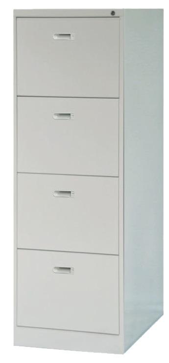 4 Layer Vertical File Cabinet With Lock