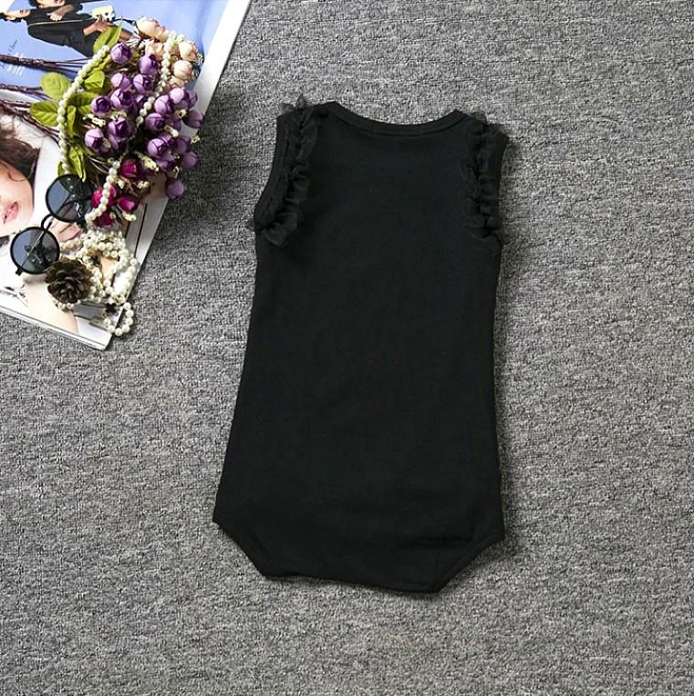"BRAND NEW ""My Little Black Dress"" Bebe Inspired Faux Crystal / Rhinestone Baby / Infant / Toddler Onesie / Bodysuit"
