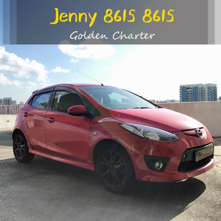 *before gojek rebate*CHEAPER CAR RENTAL FOR  LONG TERM mazda2 $280 per week.$40 per day