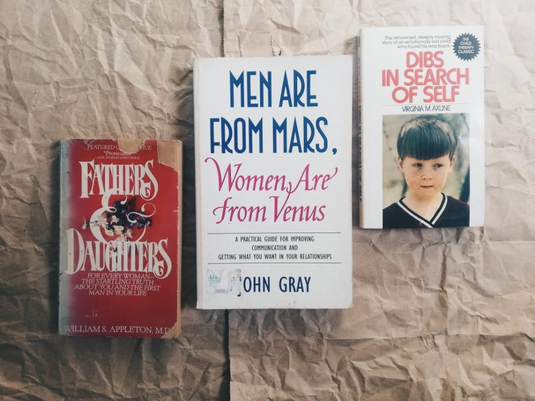 Psych Bundle: Fathers and Daughter; Men are from Mars, Women are from Venus; Dibs: In Search of Self