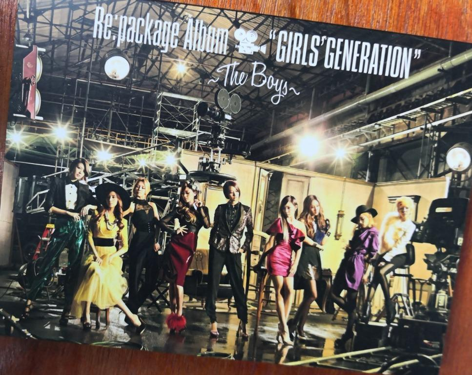 """Re:package Album """"GIRLS' GENERATION"""" - The Boys - (ALBUM+DVD)(First Press Limited Edition)(Japan Version)"""
