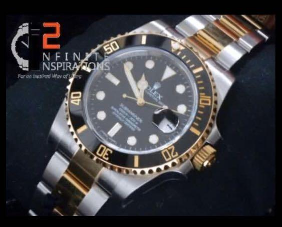Rolex Submariner Date Yellow Gold/Steel Black Dial & Ceramic Bezel Oyster Bracelet 116613LN - Unworn Complete Set with Box and Papers
