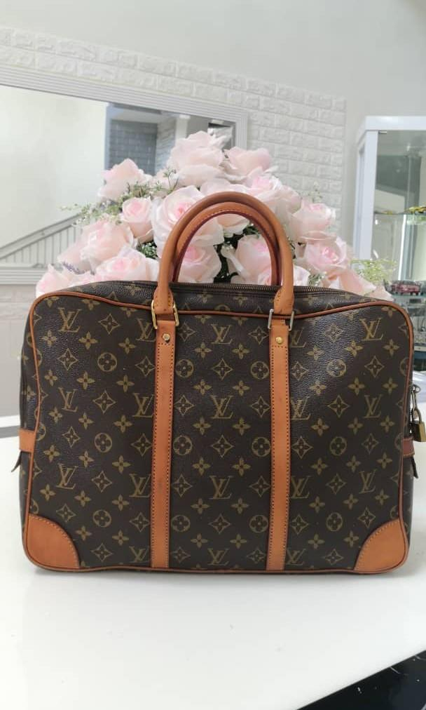 Second hand LV Monogram Office Bag - 100 % Genuine leather with very good condition.