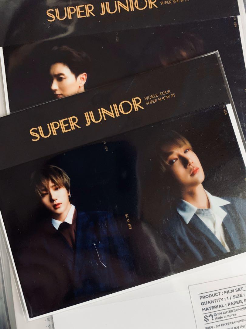 Super Junior World Tour Super Show 7S Concert Official Merchandise Yesung Film Set