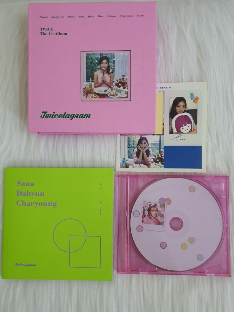TWICE Twicetagram unsealed Tzuyu Sana Dahyun Chaeyoung
