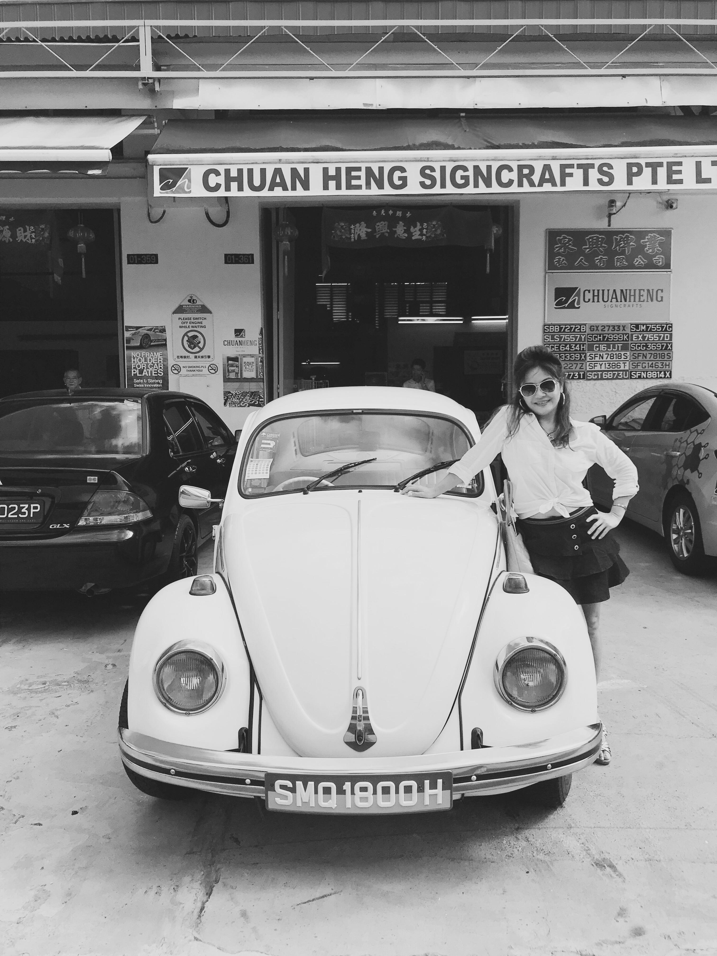 Vintage Beetle Volkswagen for Rent