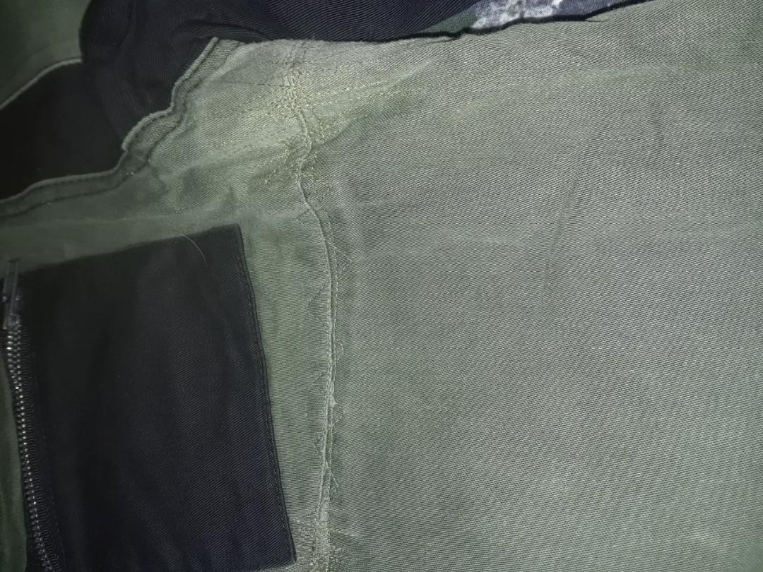 """Vintage Lip Service Rare Bombs over Baghdad pants cargo khaki olive punk 36"""" hips AS IS USED"""