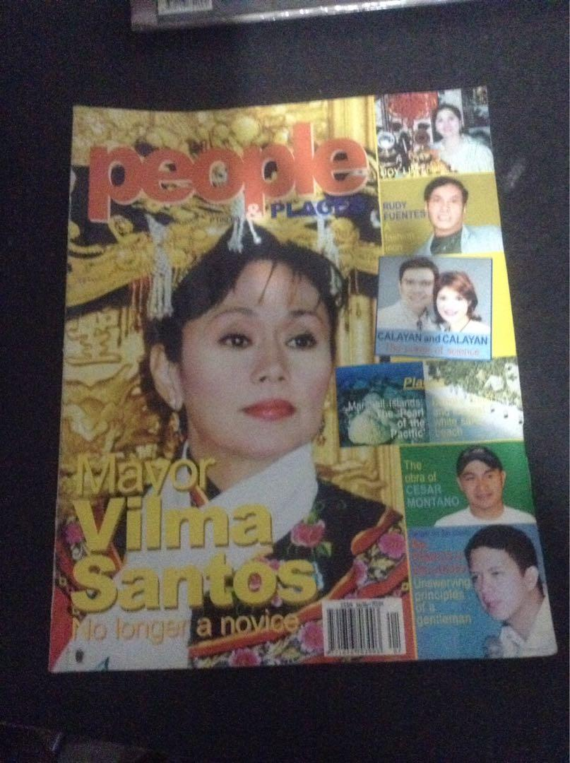 vintage VILMA SANTOS magazines/7 pcs./Assorted/1984 to 2005/Nice collection!