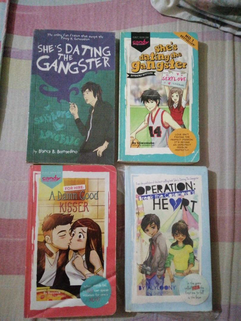 Wattpad Books (POP Fiction) Bundle! (Operation: Break the Cassanova's Heart, She's Dating the gangster: 1st and 2nd press, and For Hire: A Damn Good Kisser