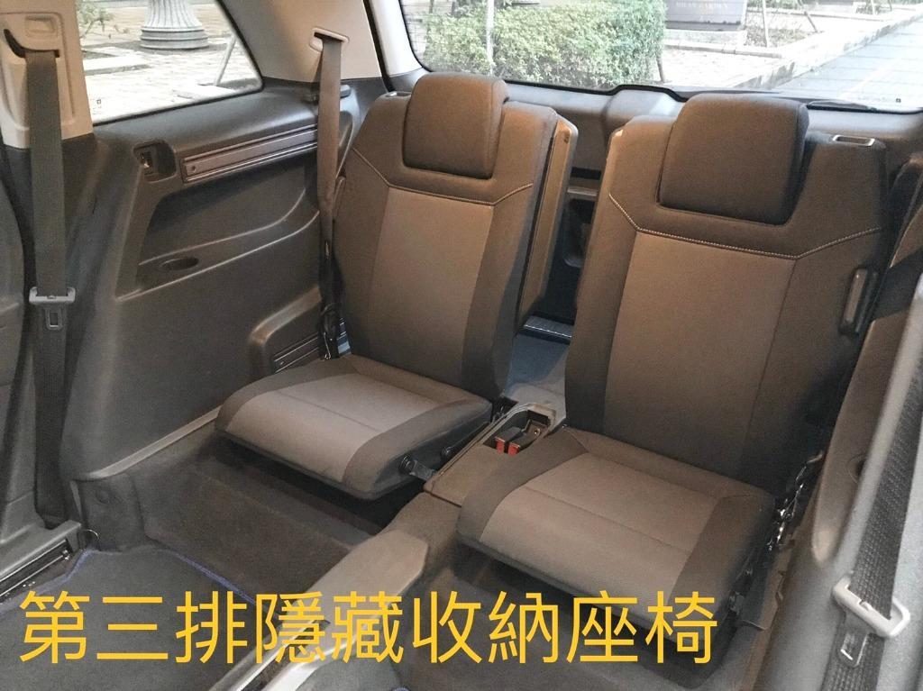超級漂亮的Zafira 1.8家庭號七人座休旅車