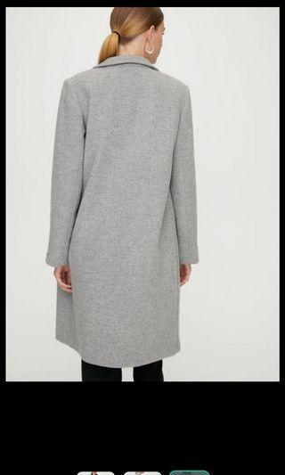 Aritzia grey coat