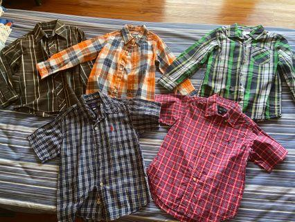 Bundle of long and short sleeves