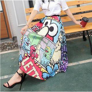 Elmo Pleated Skirt