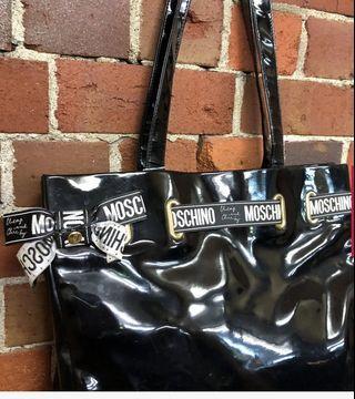 MOSCHINO patent bag