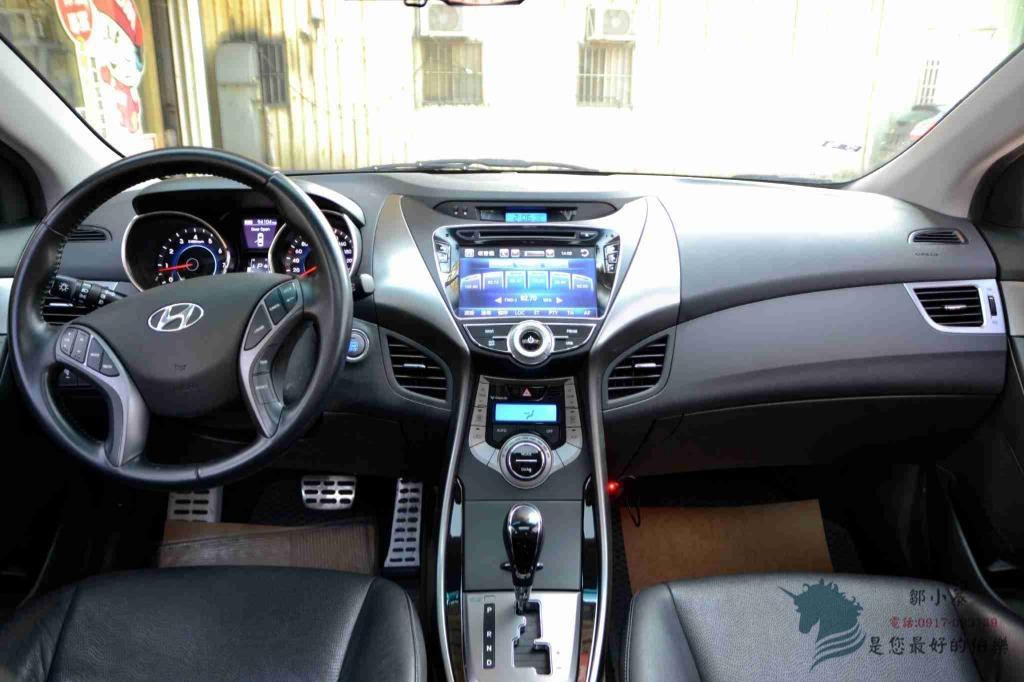 【小蓁嚴選】2012年 ELANTRA 頂級天窗/數位電視/衛星導航/倒車顯影~全車配備齊全~買到賺到!3500可交車唷