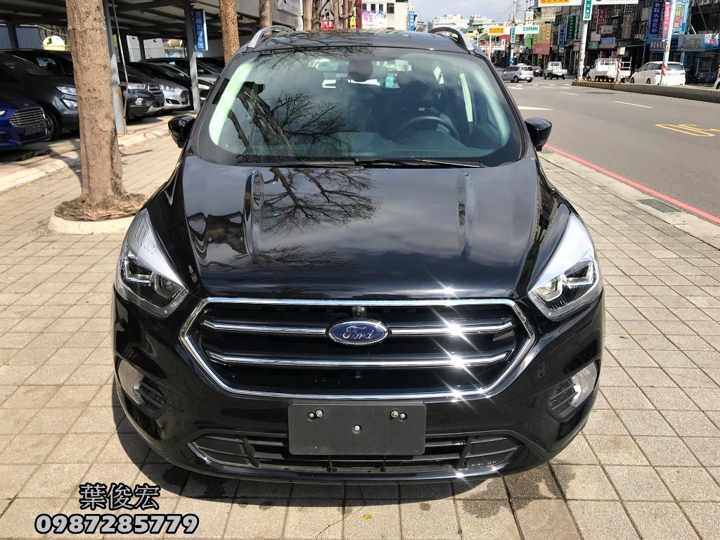 福特原廠認證中古車2018年Ford KUGA 1.5頂級黑潮版 低里程 原廠認證保固