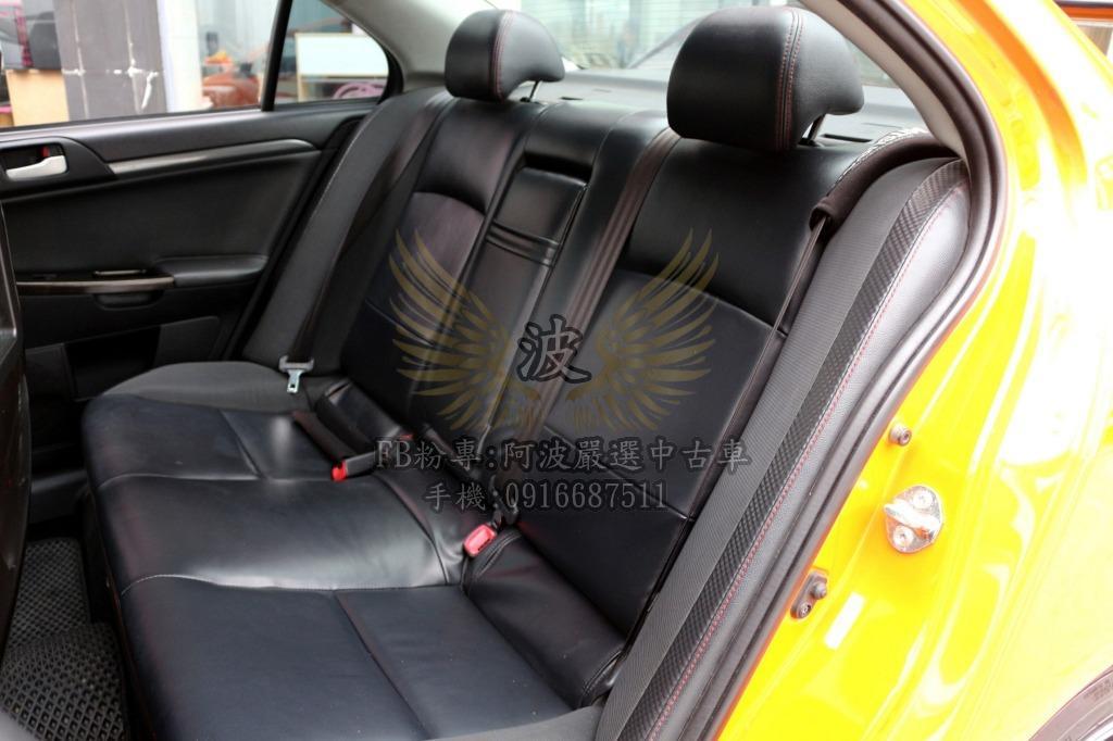 三菱 FORTIS 改鋁圈 螢幕 賽車椅 客製化改裝