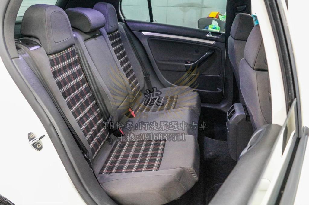 福斯 GTI 看車不用錢 得細小鋼砲 雙出排氣管 倒車螢幕 改鋁圈 車美優質