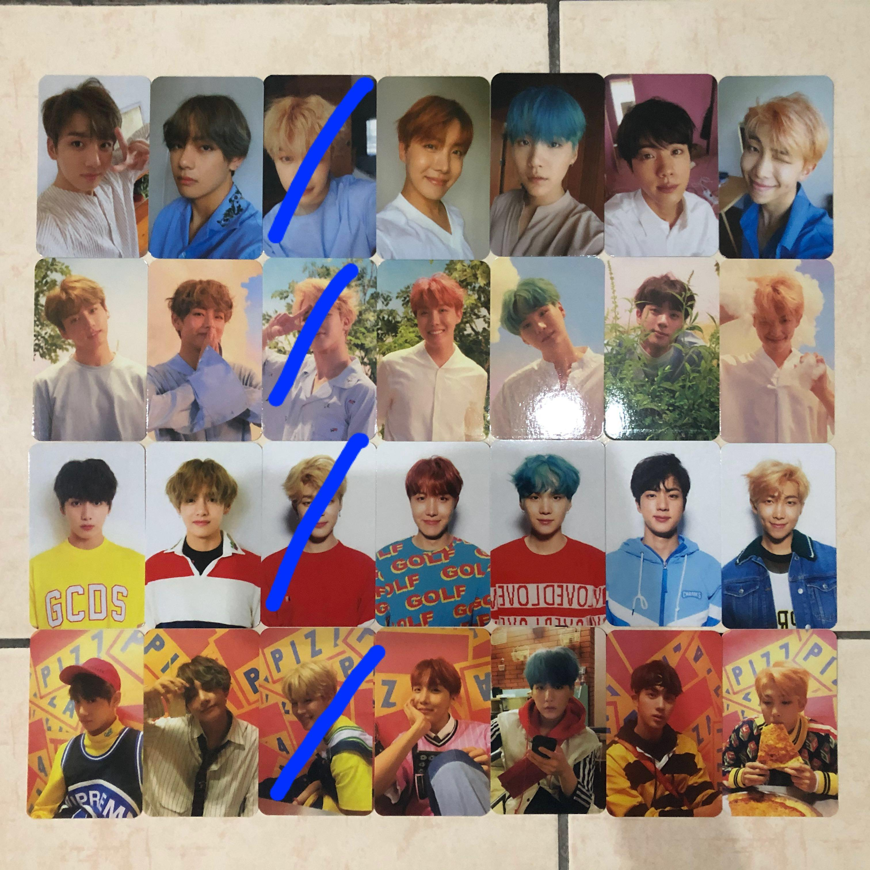 [PRICE REDUCED] BTS Unofficial Photocards Photocard PCs