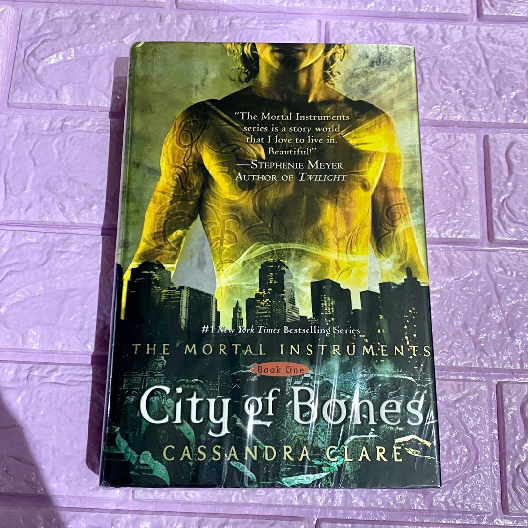 City of bones cassandra clare the mortal instruments hardbound signed and personalized preloved