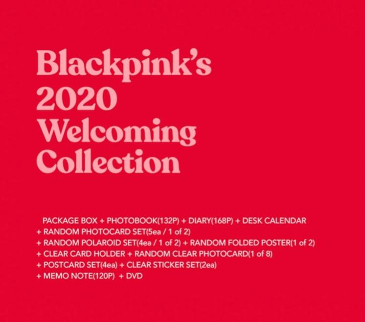BLACKPINK - 2020 WELCOMING COLLECTION + KTOWN4U GIFT