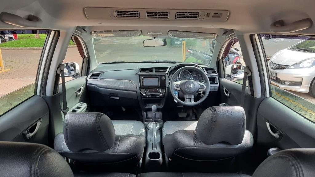 Honda BRV 1.5 E AT Putih 2016 Dp 19,9 Jt No Polisi Ganjil