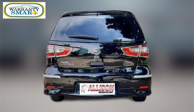 Nissan Grand Livina 1.5 SV Manual 2014 Hitam Dp 24,9 Jt No Pol Ganjil