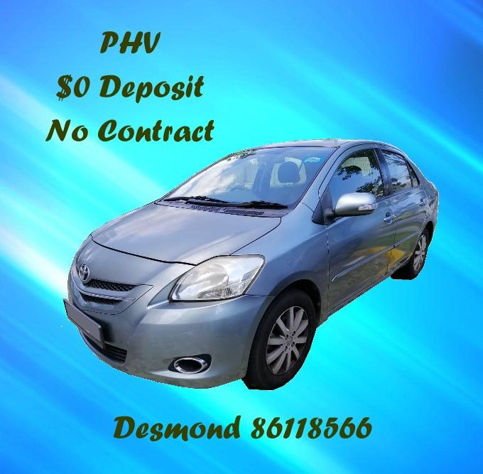 No Deposit, No Contract, Budget and Cheap Car Rental PHV (Rental of Car)