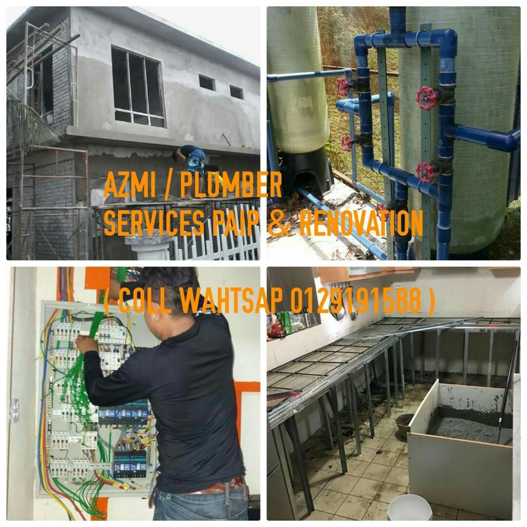 PLUMBING SERVICES PAIP PLUMBER BINA RUMAH ) 01209191588 )