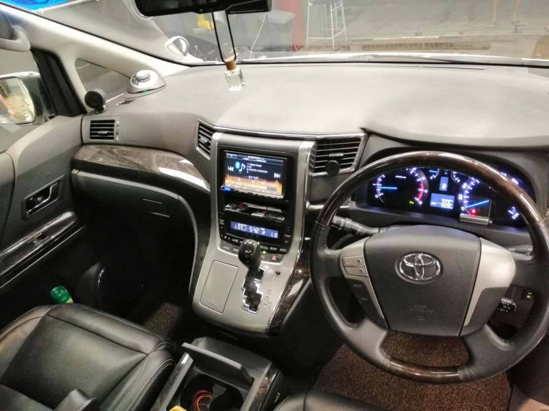 Rental Cheap Toyota Alphard 2.4 S Moon Roof Edition