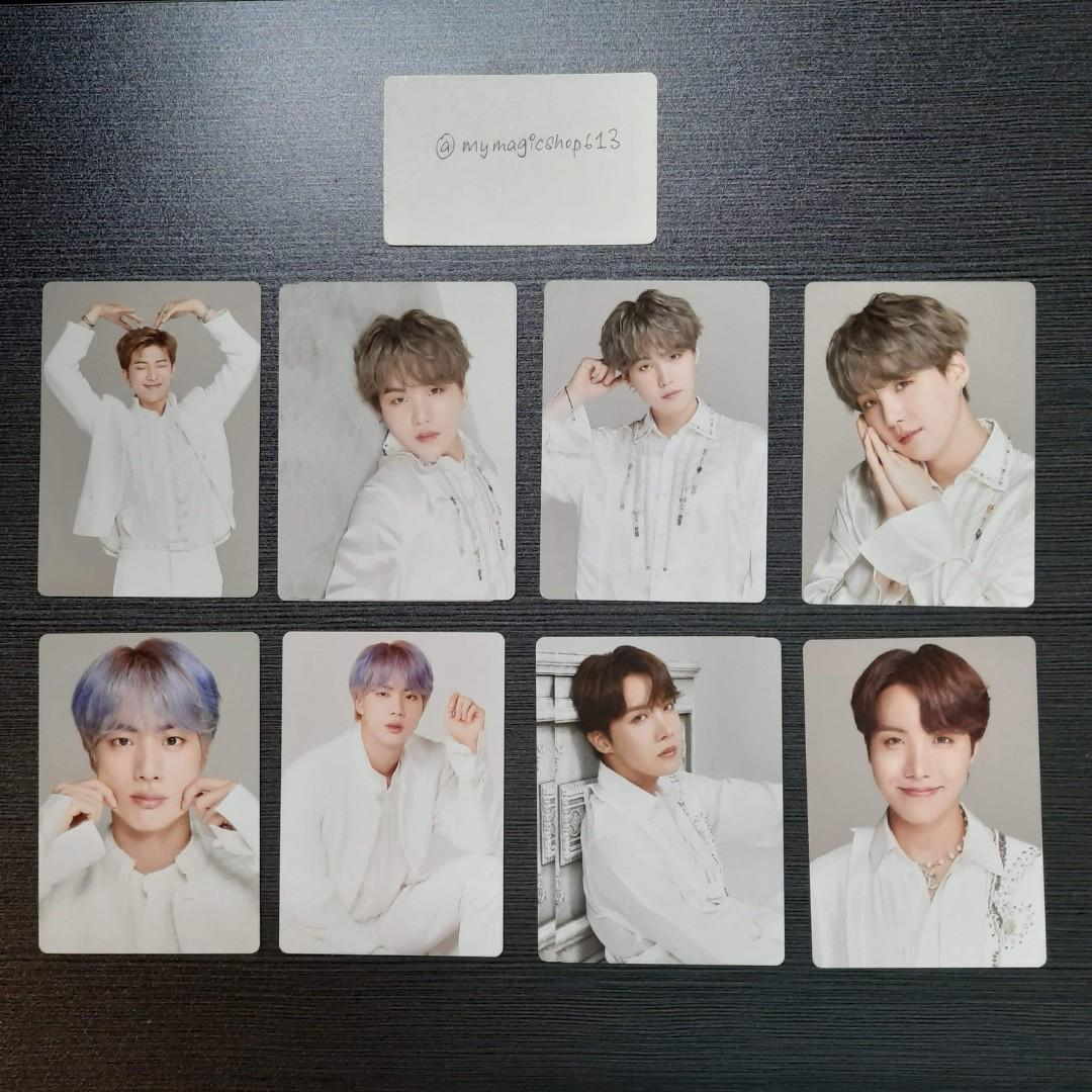 <RS> BTS OFFICIAL MINI PHOTOCARD - WORLD TOUR 'LOVE YOURSELF: SPEAK YOURSELF' THE FINAL MERCH