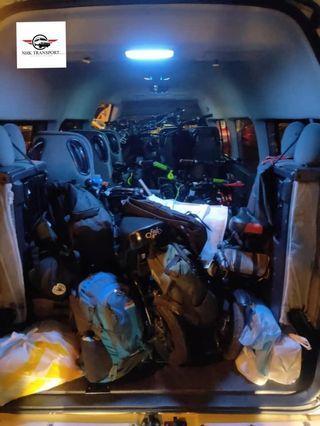 tour van / klia van / airport van / rental van with driver