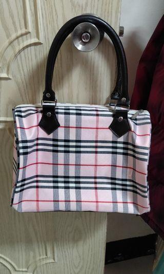粉紅格紋包