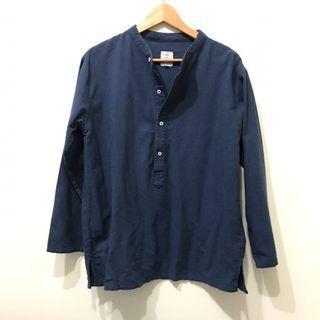 L號文青襯衫/pullover