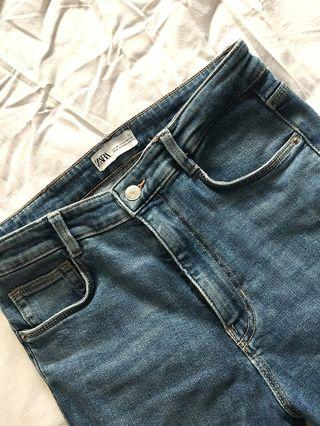 FREE SHIPPING IN MNL Zara High Waist Pants/Jeans