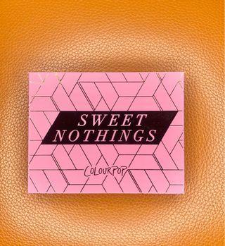 Colorpop 卡拉泡泡 sweet nothings眼影盤