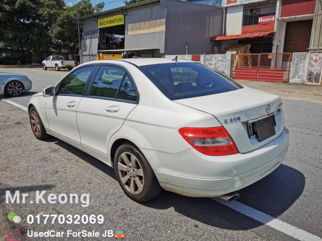 2009TH 🚘MERCEDES-BENZ C200 SE KOMPRESSOR 1.8AT OfferPrice 42,800 Only 🎉LowestPrice InJB🎉Bulanan Rm740 Only Call📲 KeongForMore🚘🤗