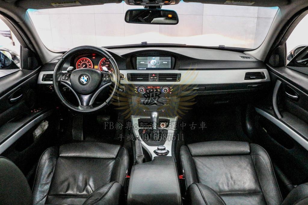 BMW 335I 雙出排氣管 天窗 改鋁圈