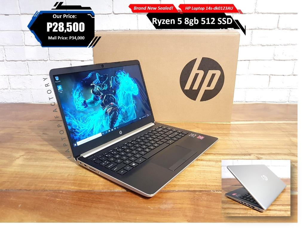 Brand New Sealed Midgaming Hp Ryzen 5 8gb 512 Ssd Electronics Computers Laptops On Carousell