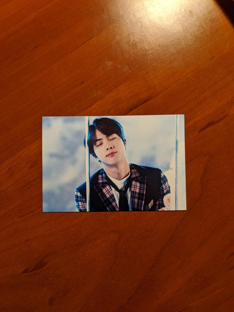 BTS Official Jin Wings Tour Mini Photocard (Ver. 1)